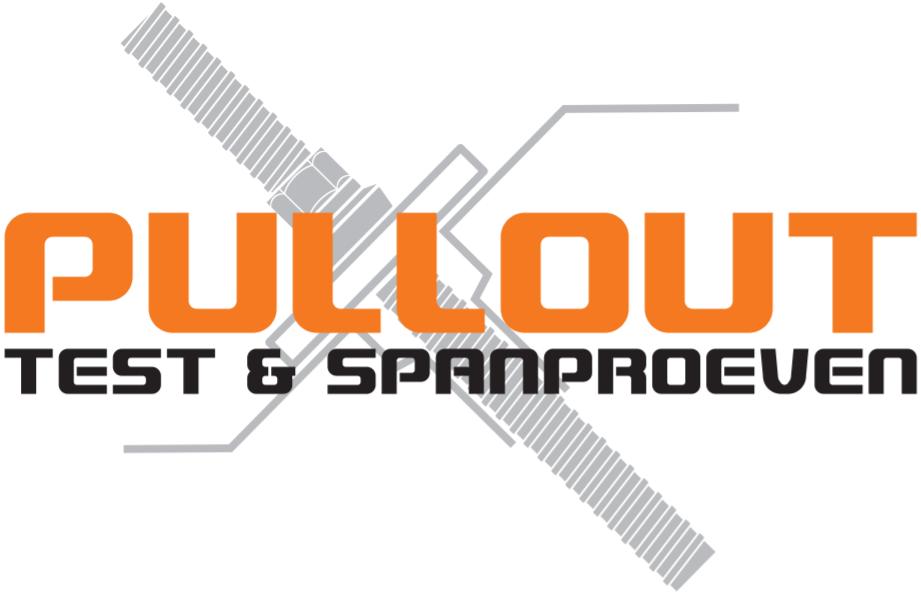 Pullout test- en spanproeven logo